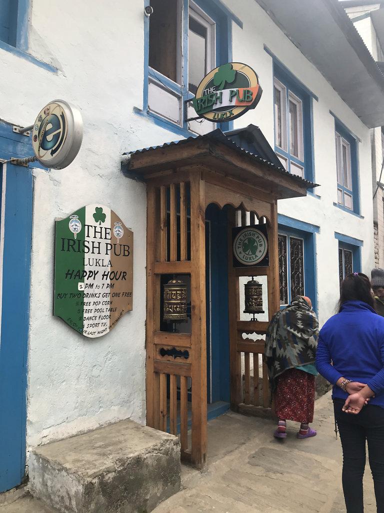Irish Pub in Lukla