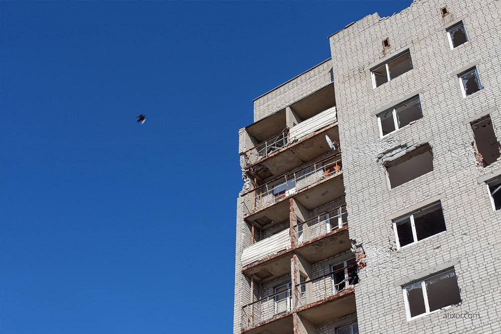 Windows of Donbas. Avdyivka